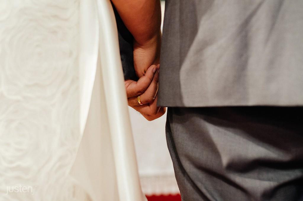 alianças, mãos, noivos