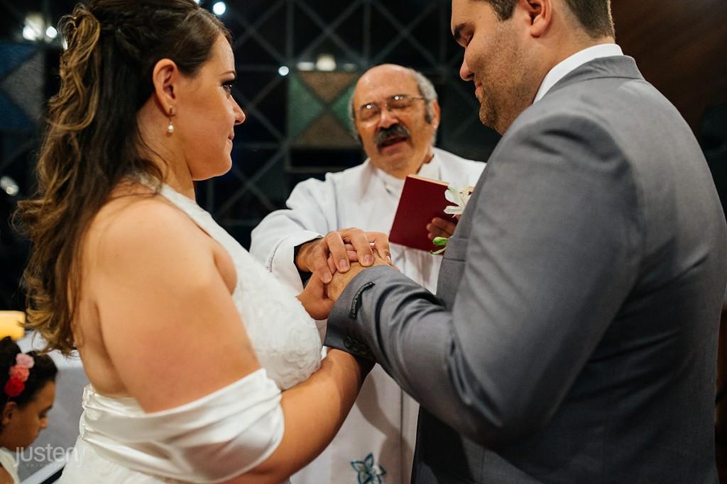 noivo, noiva, padre