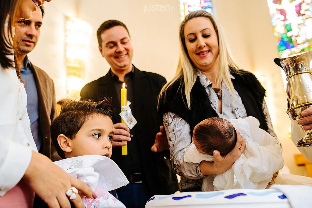 Batizado de Cecilia boaron em Asilo São Vicente de Paulo em Curitiba